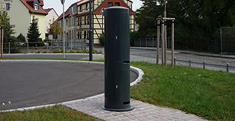 feeder pillar for water and power