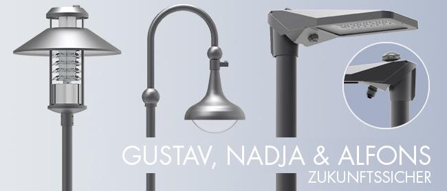 Zukunftssichere Leuchten mit Zhaga-Sockel